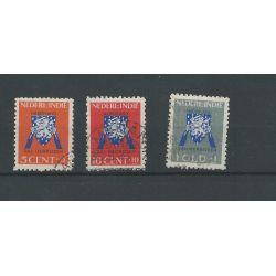 Ned. INDIE 290-292 Vrij Nederland LUXE VFU/gebr CV 20 €