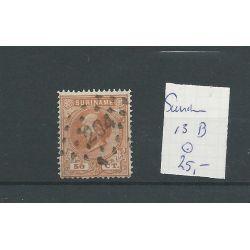 Suriname 13B LUXE VFU/gebr CV 25 €