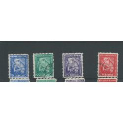 Suriname 137-140 Heemstra Prachtig VFU/gebr CV 25 €