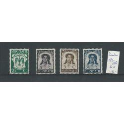 Suriname 183-186 Emancipatie MNH & VFU CV 24 €