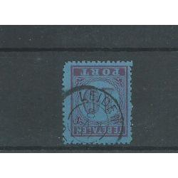 """Nederland P2 met """"LEIDEN 1887"""" kleinrond Luxe CV 22 €"""