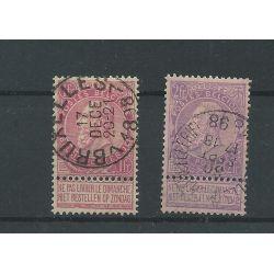 Belgie 58-59 Koning Leopold II VFU/gebr CV 80 €