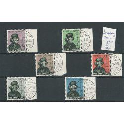 Luxemburg 315-318 Charitas 1938 VFU/gebr CV 50 €
