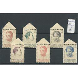 Luxemburg 333-338 Charitas 1939 MNH/postfris CV 50 €