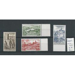 Luxemburg 431-434 Landschaften MNH/postfris CV 34 €