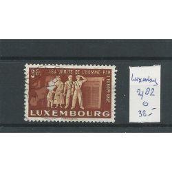 Luxemburg 482 Europäise Einigung VFU/gebr CV 38 €