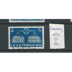 Luxemburg 483 Europäise Einigung 4Fr VFU/gebr CV 50 €