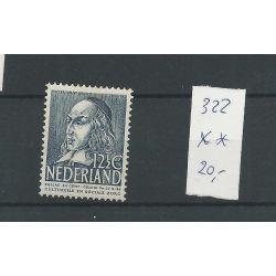 Nederland 322 Zomer 1939 MNH/postfris CV 20 €