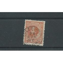 "Nederland 23 met ""CULEMBORG 1886"" VFU/gebr CV 12 €"