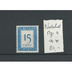 Nederland P91a Vertikaal wm LUXE MNH/postfris CV 80 €