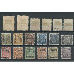 Ned. Indie 63-80 JAVA opdruk luxe VFU/gebr CV 103 €