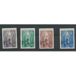 Suriname 312-315 Jeugdwerk MNH/postfris CV 28 €