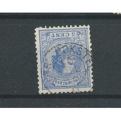 "Nederland ""Utr:-Bokstel 1886 "" kleinrond op 19"