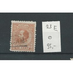 Nederland 23E Willem III 1872 15ct VFU/gebr CV 95 €