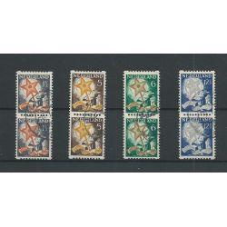 Nederland R98-101 paartjes Kind 1933 Roltanding VFU/gebr CV 80+ €