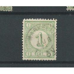 """Nederland 31 """"GORINCHEM 1883"""" kleinrond VFU/gebr CV 3 €"""