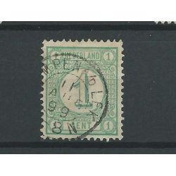 "Nederland 31 ""KRIMPEN A/D LEK 1899"" kleinrond VFU/gebr CV 22.5 €"