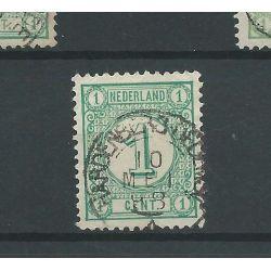 "Nederland 31 ""HARDENBERG-DEDEMSVAART 1898"" kleinrond VFU/gebr CV 40 €"