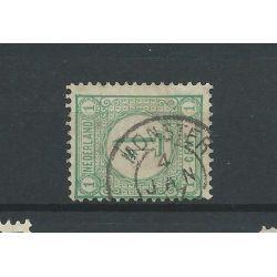 "Nederland 31 ""MONSTER 1897"" kleinrond VFU/gebr CV 22,5 €"