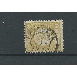 "Nederland 32a ""FRANEKER 1899"" kleinrond VFU/gebr CV 10 €"