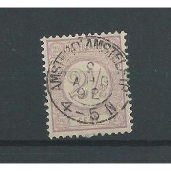 "Nederland 33 ""AMSTERD:AMSTERLSTR: 1888"" kleinrond VFU/gebr CV 13 €"