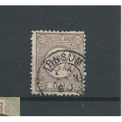 """Nederland 33 """"IRNSUM 1890 """" kleinrond VFU/gebr CV 20 €"""