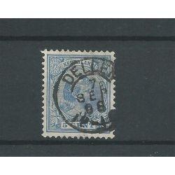 """Nederland 35 met """" DELDEN 1896"""" VFU/gebr CV 5 €"""