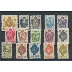 Liechtenstein 25-39 LANDSWAPPEN MNH/postfris CV 28 €