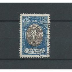 Liechtenstein 64 Freimarke 1925 VFU/gebr CV 3 €
