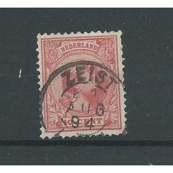 "Nederland 37 met ""ZEIST 1894 "" VFU/gebr CV 4,5 €"