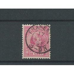 """Nederland 37 met """"FRANEKER 1895 """" VFU/gebr CV 7 €"""