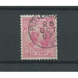 """Nederland 37 met """"PUTTERSHOEK 1897 """"  VFU/gebr  CV 37 €"""