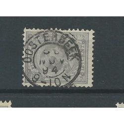 """Nederland 38 met """"OOSTERBEEK 1894"""" VFU/gebr CV 5 €"""
