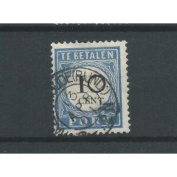 """Nederland P22 """"HAZERSWOUDE (RIJND:) 1901"""" kleinrond VFU/gebr CV 15+ €"""