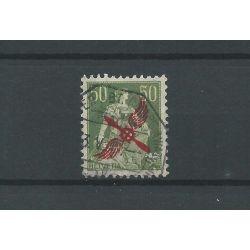 Zwitserland LP1 luchtpost 1919 VFU/gebr CV 150 €