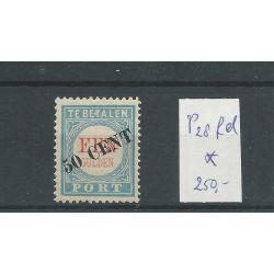 """Nederland P28fd """"E.T"""" MH/ongebr CV 250 €"""
