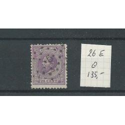 Nederland 26E 11,5x12 kl.gt VFU/gebr CV 135 €