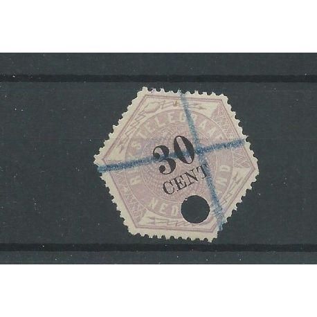 Nederland TG8 Telegram VFU/gebr CV 25 €