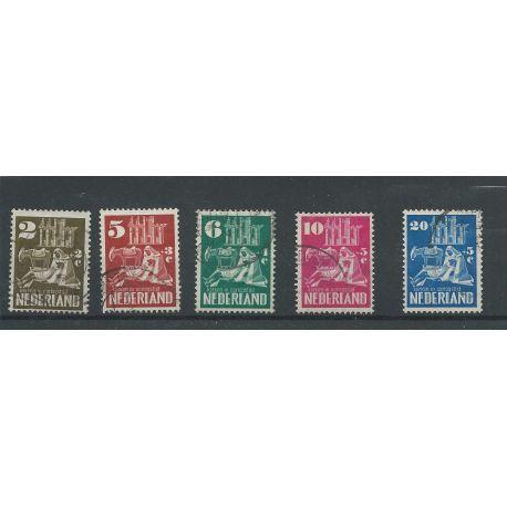Nederland 556-560 Kerken 1950 VFU/gebr CV 47 €