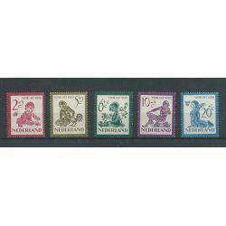 Nederland 563-567  Kind  1950  MNH/postfris  CV 34 €