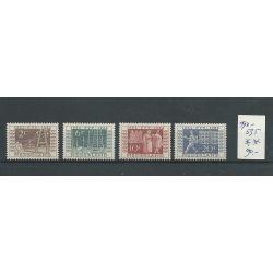 Nederland 592-595  ITEP   MNH/postfris  CV 90 €