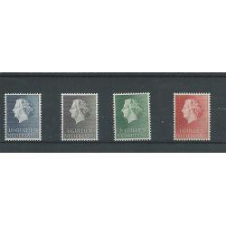 Nederland 637-640 Juliana   MNH/postfris  CV 25 €