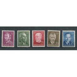 Nederland 641-645 Zomer 1954  MNH/postfris  CV 32 €