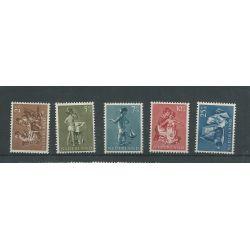 Nederland 649-653 Kind 1954 MNH/postfris CV 15 €