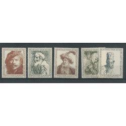 Nederland 671-675 Rembrandt MNH/postfris CV 35 €
