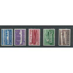 Nederland 688-692 Zomer 1957 MNH/postfris CV 15 €