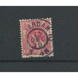 "Nederland 60 met ""AMSTERDAM-10 1910"" grootrond VFU/gebr CV 20 €"