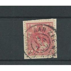 """Nederland 60 met """"NOORDWIJK AAN ZEE 1908"""" grootrond VFU/gebr CV 6 €"""