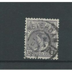 "Nederland 62 met ""AMSTERDAM-12 1907"" grootrond VFU/gebr CV 10 €"