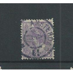 "Nederland 66 met ""AMSTERDAM-11 1908"" grootrond VFU/gebr CV 21 €"